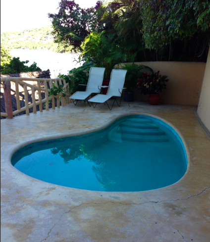 Plunge Pool in Paradise