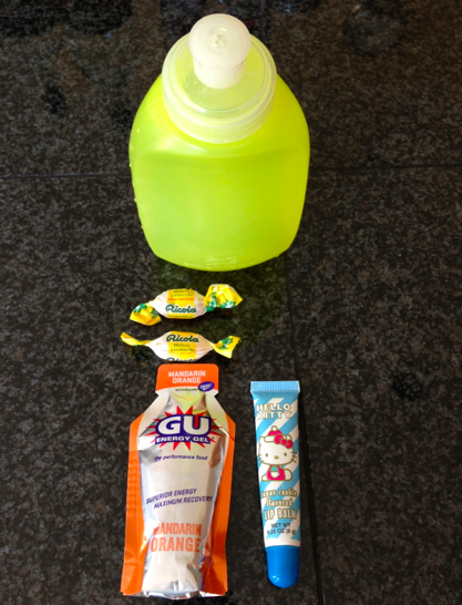 Water, Gu, Losanges, Miss Kitty Lipgloss, check, check, check!