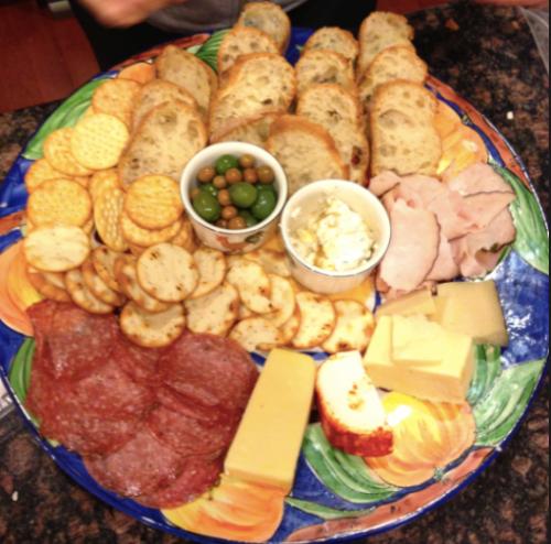Holy Cheese Platter, Batman