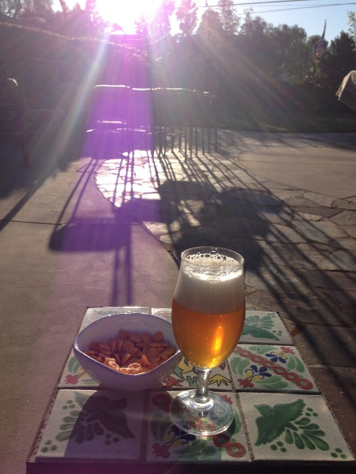 Beer + Goldfish, not on your typical detox menu...