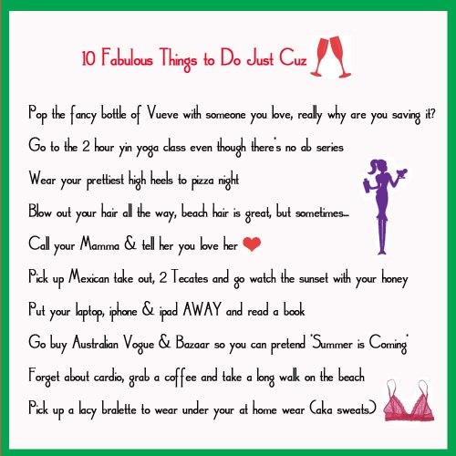 10 Fab Things...