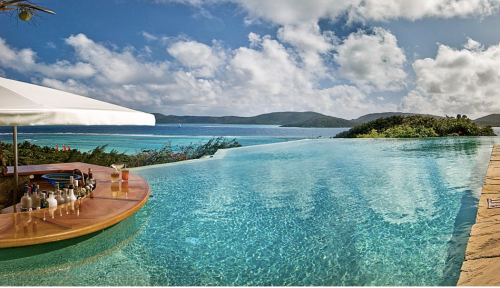 A little weekend lounging at Necker? Ok...