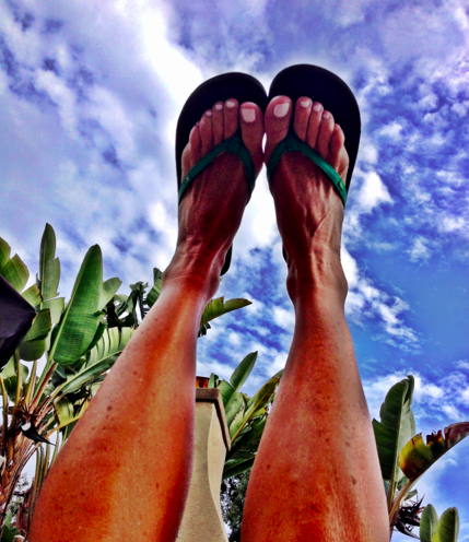 Happy Feet - proud Sanuk product testing!!!