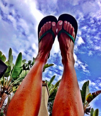Happy Feet - proud Sanuk product testing!!!