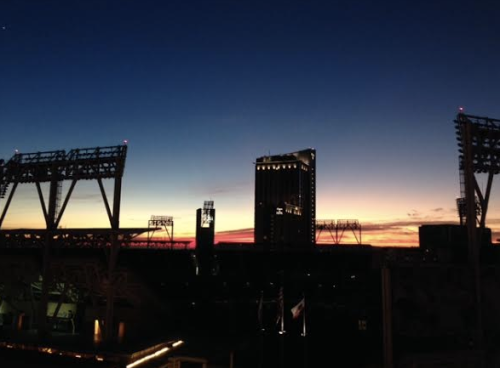 Sunset at Petco Park