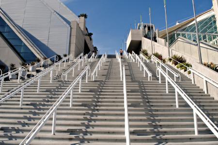 San Diego Convention Center Stairs, gulp