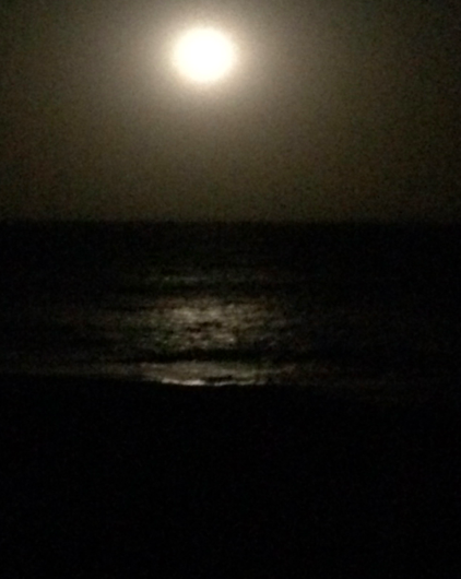 Full moon on my birthday…good sign