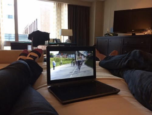 Cycling…almost as soothing and nap inducing as golf